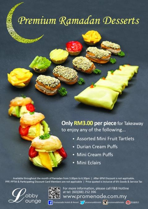 Promenade Hotel Kota Kinabalu Premium Ramadan Desserts at Lobby Lounge (1)