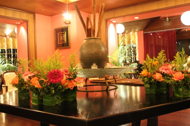 Dinner Spice Island Sutera Harbour Marina Country Club Kota