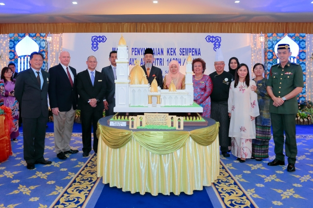 Raya Cake to TYT by Sutera Harbour resort (a)