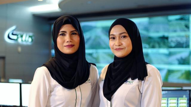 TMC_L-R_Faridah Binti Mansor, Norziha Binti Abdul Rahman
