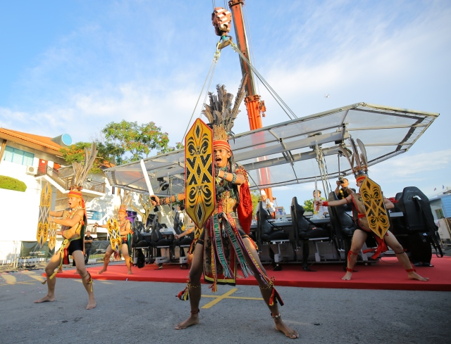 Special Performence - Dayak Warriors Opening Ceremony